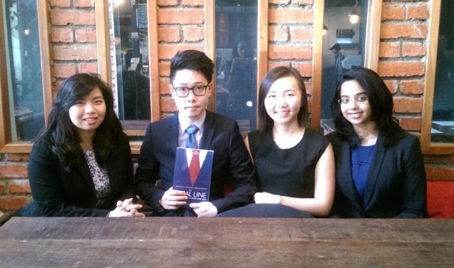 (L-R) Andreanna, Kenneth, Su Ann, and Nabila