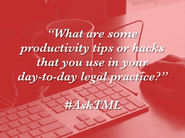 AskTML - productivity tips
