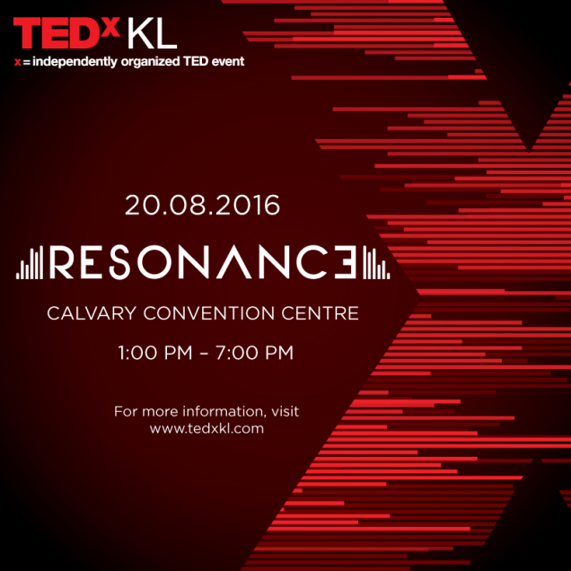 Official TEDxKL Poster