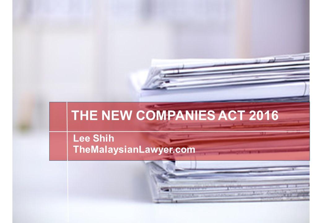 malaysian company law