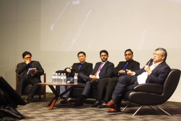 Image 3 L to R Dr Sonny Zulhuda, IIUM (moderator); Colbert Low, Celebrus Advisory; Alonso Castilla, KLRCA; Rajesh Sreenivasan, Rajah & Tann Singapore LLP ; Chew Seng Kok, ZICO Holdings